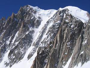 Ascension du Mont Blanc du Tacul par le couloir Gervasutti