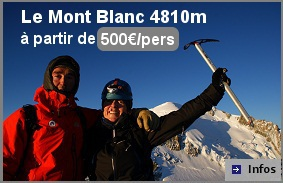 Stage ascension Mont Blanc